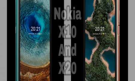 nokia x20 and x10